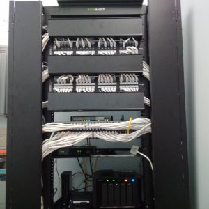 picture of data rack